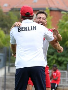 #Maximilian #Zimmer Torjubel in Richtung unseres Cheftrainers #Steffen #Baumgart (Teil 2)