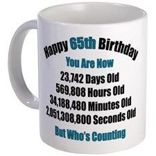Funny 65th Birthday Gifts