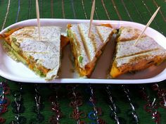 Sweet Potato Avocado Panini