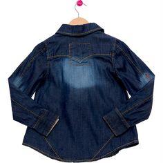 Camisa Infantil Social Azul Lilica Ripilica