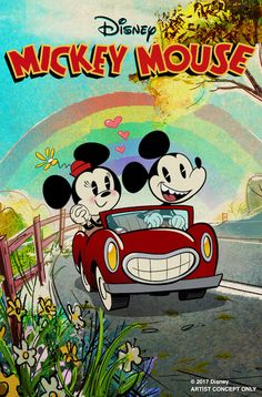 First Mickey-Themed Ride-Through Attraction, Mickey and Minnie's Runaway Railway, Coming to Disney's Hollywood Studios | Disney Parks Blog