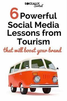 We can learn a lot from the tourism industry when it comes to social media. Here are 6 Powerful Social Media Lessons from Tourism to boost your brand. Inbound Marketing, Tourism Marketing, Business Marketing, Content Marketing, Social Media Marketing, Digital Marketing, Marketing Strategies, Marketing Ideas, Email Marketing