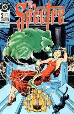 The Spectre No.2 (May 1987) - Cover by Michael Kaluta