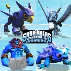 Skylanders Air Element Characters