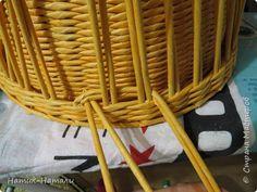 Поделка изделие Плетение Март-апрель Трубочки бумажные фото 48