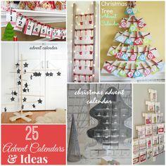 25 holiday advent calendar ideas