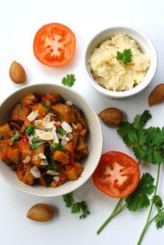 Menu Verde: Salada mediterrânica de Beringela & Tomate