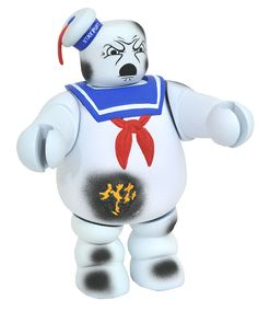 SDCC 2017 GHOSTBUSTERS BATTLE DAMAGED STAYPUFT VINIMATE - (SRP: $9.99) Limited to 1,500 pieces