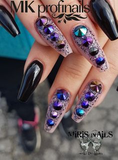 Blacknails#nails#lovenails#