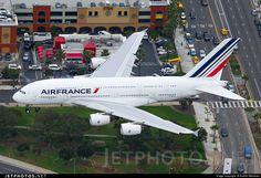 Airbus A380-861 F-HPJI 115 Los Angeles Int'l Airport - KLAX