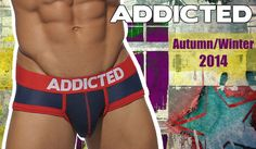 The new ADDICTED Autumn/Winter collection is now available #addicted #menstyle #mensfashion #underwear #underwearmen