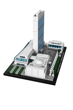 LEGO Architecture United Nations Headquarters: Toys & Games