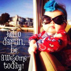 Adorable good morning diva:)