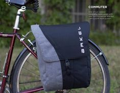 Arkel Commuter rear pannier for laptops and gear