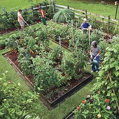 Design Vegetable Garden on Potager Garden Featured In Southern Living Magazine A Potager Garden