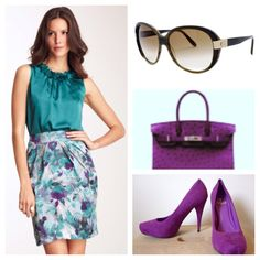 Purple is an option too!