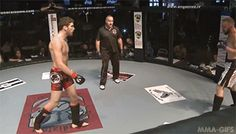 a savate-style chassé bas front kick, confident and powerful. The punches really lacked form