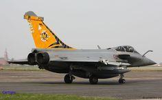 Armée de l'Air Dassault Rafale in Tiger meet 2012 scheme.