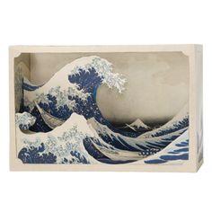DIY Diorama Great wave