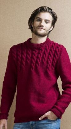 Cable Sweater, Poncho Sweater, Cable Knit, Men Sweater, Jumper Knitting Pattern, Loom Knitting Patterns, Knitting Designs, Knitwear Fashion, Sweater Fashion