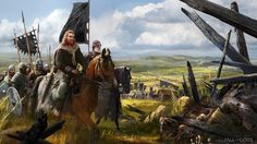 ArtStation - Fall of Gods - Moving Army, Marta Grajper Medieval World, Medieval Fantasy, Dark Fantasy, Fantasy Battle, Valhalla, Viking Character, Greek Warrior, Gn, Empire Romain