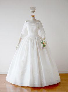 袖付きドレス6