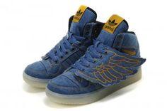 Originals Adidas Jeremy Scott Wings 2.0 Blue Shoes