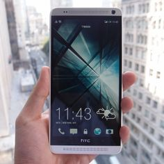 Is bigger better? Check out our hands on with the supersized HTC One Max Mens Gadgets, Htc One M8, Toys For Boys, Smartphone, Virtual Reality, Etsy, Phones, Waiting, Android