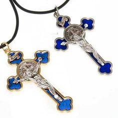 Collana Croce San Benedetto | vendita online su HOLYART