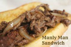 Manly Man's Sandwich