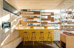 Nama Nama Interior Inspiration, Design Inspiration, Design Ideas, Cafe Design, Interior Design, Narrow Rooms, Furniture Placement, Cool Cafe, Design Awards