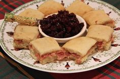 Ladyfingers Ham Biscuits served with Cranberry Mostarda - as part of a Quick & Easy Christmas Menu