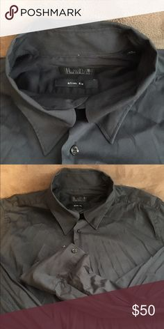 Pal Zileri Concept slim fit Black Casual slim fit. Lab. Pal Zileri Shirts Casual Button Down Shirts