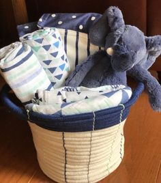 Gracie giraffe baby basket baby gift basket ideas pinterest homer elephant baby gift basket negle Images