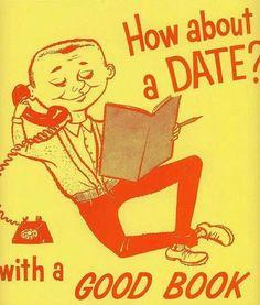 Vintage book ad