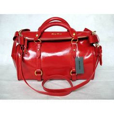 Red Bow Convertible Satchel Bags