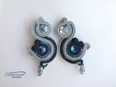 New Blue Soutache Earrings