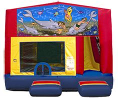 Surprising Under The Sea Inflatables Games Home Interior And Landscaping Eliaenasavecom