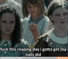 Hunger games humor/funny lol