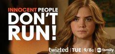 Innocent People Don't Run!