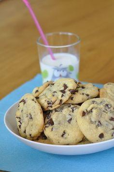 """Lorsque j'ai vu la recette de cookies d'Isa qu'elle appelle les """"parfaits…"""