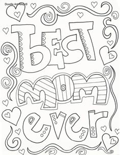Mothers Day Coloring Pages to Celebrate the BEST Mom | Teaching ...