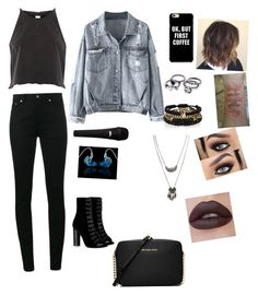 """""""Untitled #129"""" by sandra-payne-guadarrama on Polyvore featuring River Island, Yves Saint Laurent, Barbara Bui, Wet Seal, Ultimate and Michael Kors"""