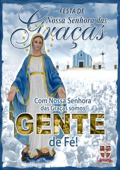 Capa da programação da Festa de N. Sra. das Graças 2012 - Florânia-RN