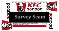 """KFC """"Free Zinger Burger Coupon"""" Facebook Scam"""