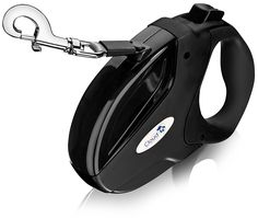 Best Retractable Dog Leash With 16ft of Nylon Ribbon Is Heavy Duty and Allows Your Pet to Enjoy Added Freedom While Remaining Tangle Free. It's Perfect for Training and Includes a Free eBook! * See this awesome image  : Leashes for dogs