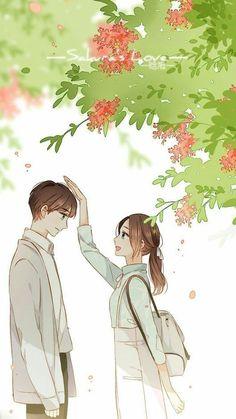 Ideas For Wallpaper Anime Romance Couple Anime Manga, Couple Amour Anime, Anime Cupples, Anime Couples Drawings, Anime Love Couple, Anime Couples Manga, Romantic Anime Couples, Cute Couple Drawings, Cute Couple Art