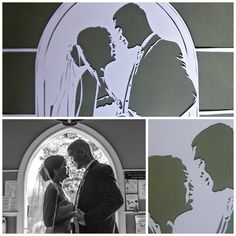 A papercut wedding portrait makes a great #firstanniversarygift.  Mrs Scuffer's Handcut makes beautiful, unique pieces.  Contact her via her website, social media or her Etsy shop