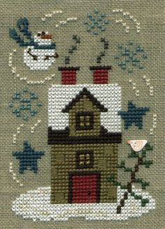 Winter House - Bent Creek - must make this, after I finish 400 other projects!