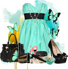 """seafoam green"" by candy420kisses on Polyvore"